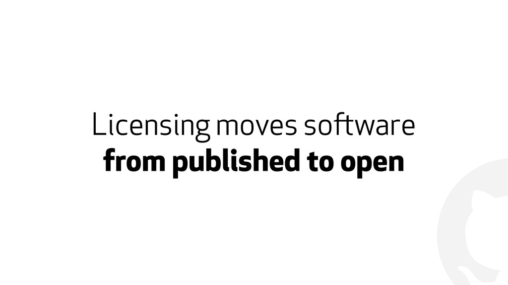 ! Licensing moves software 