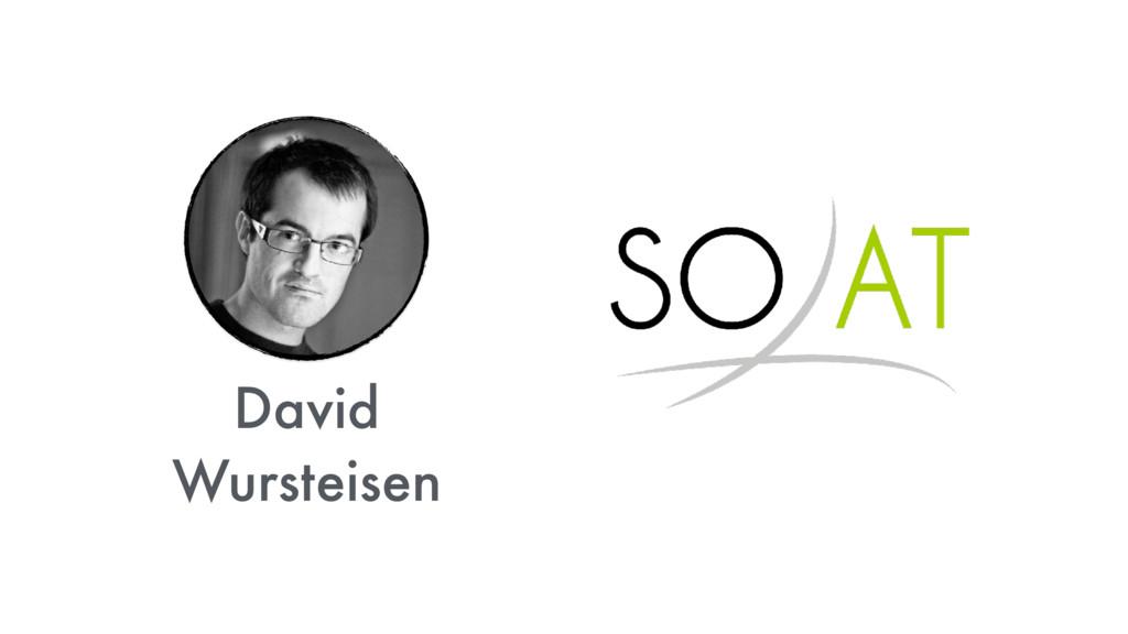 David Wursteisen