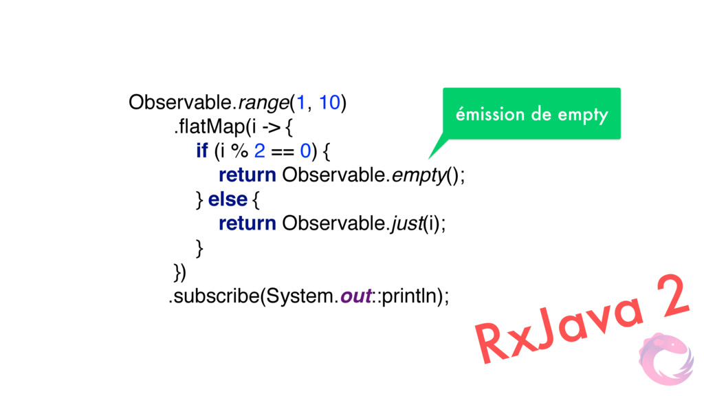 Observable.range(1, 10)