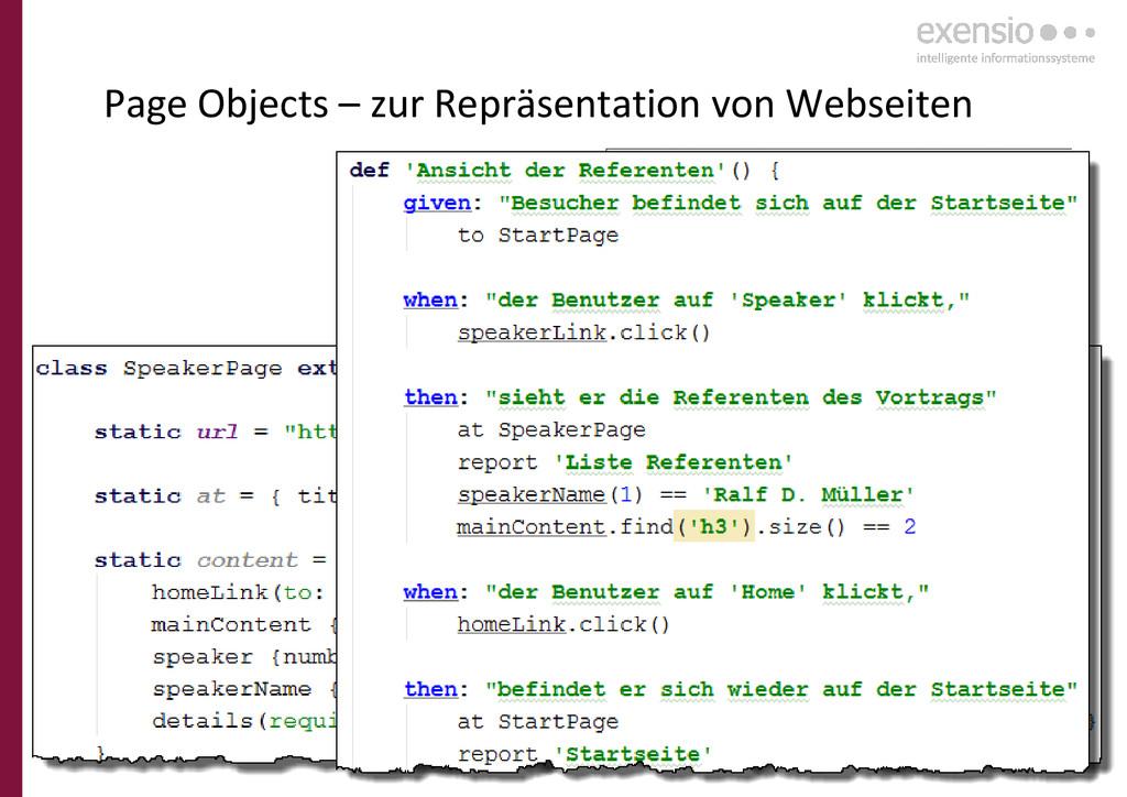 26 Page Objects – zur Repräsentation von Websei...