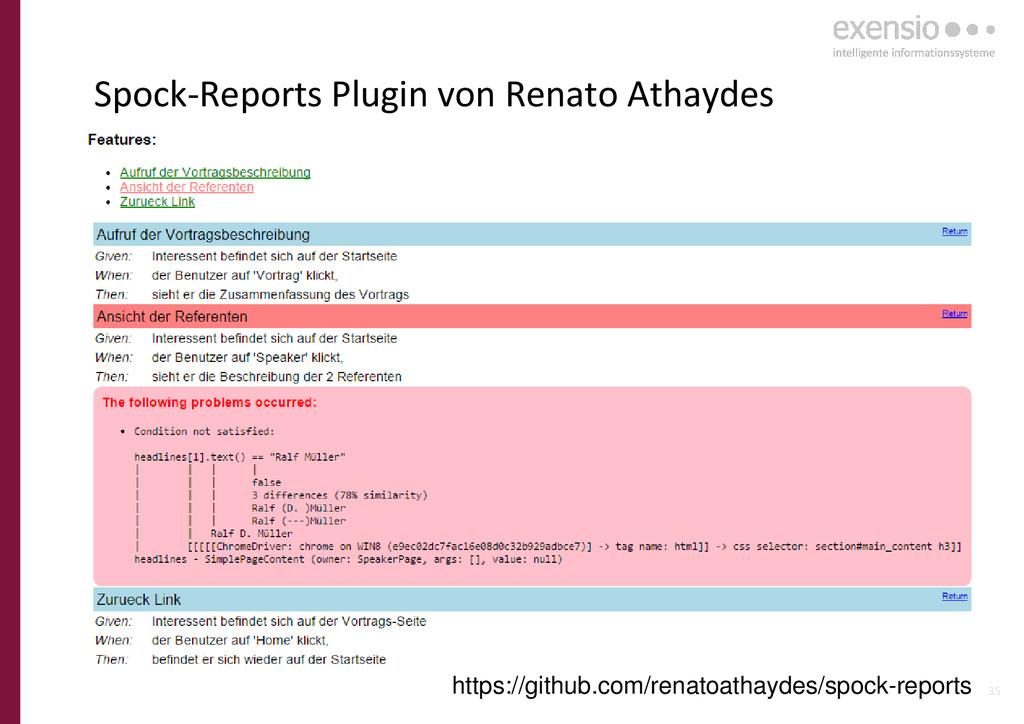 35 Spock-Reports Plugin von Renato Athaydes htt...