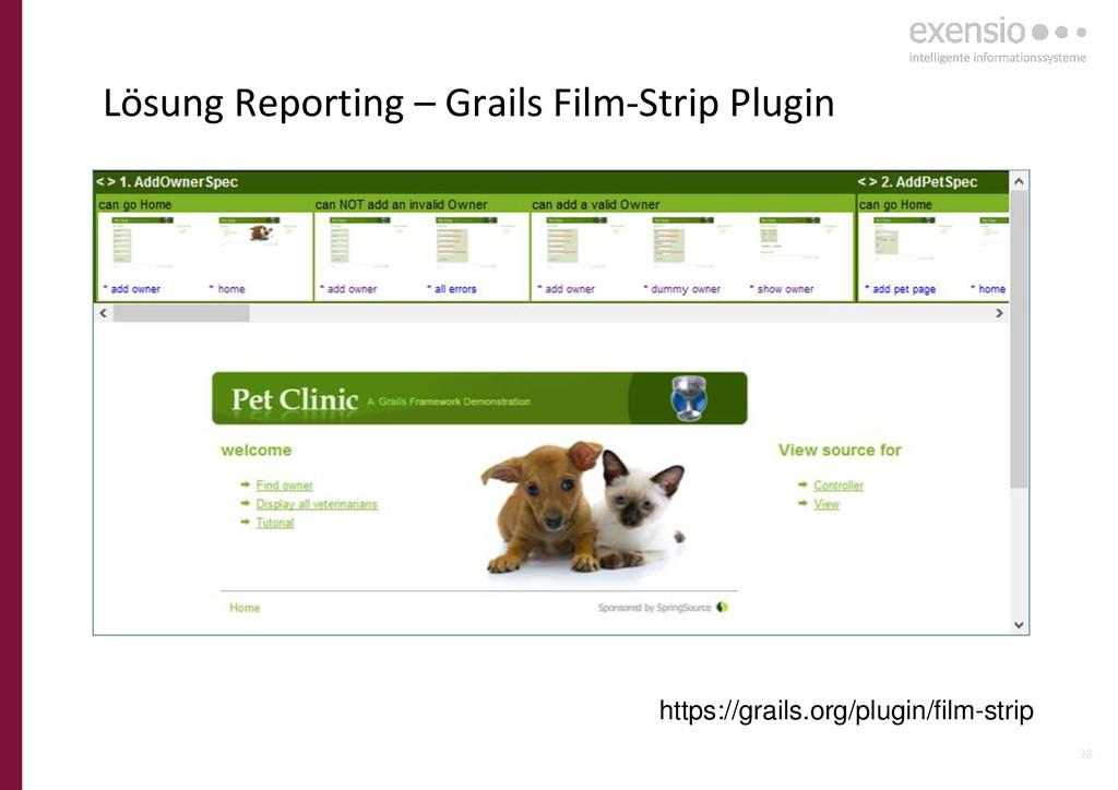 38 Lösung Reporting – Grails Film-Strip Plugin ...