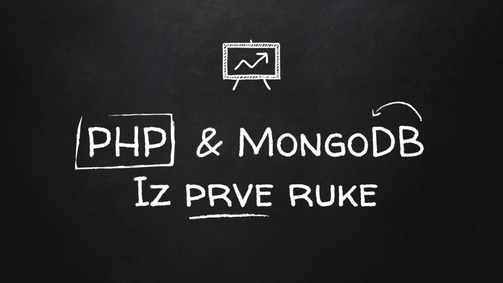 PHP & MongoDB Iz prve ruke