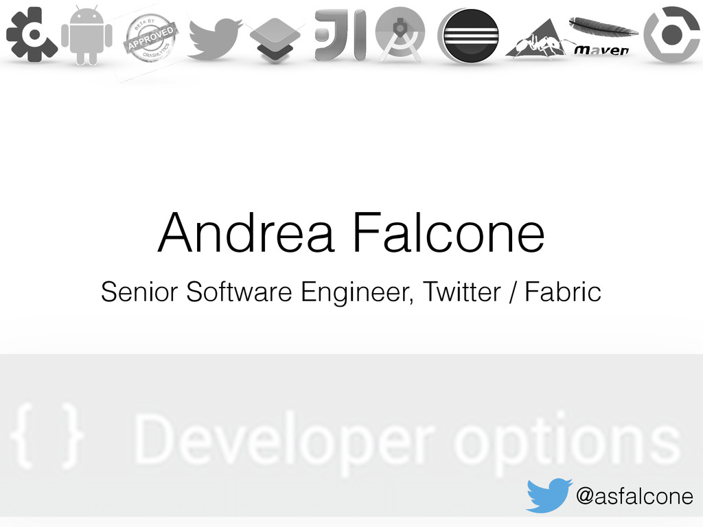 Andrea Falcone Senior Software Engineer, Twitte...