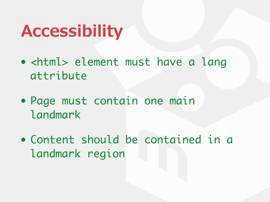 Accessibility • <html> element must have a lang...