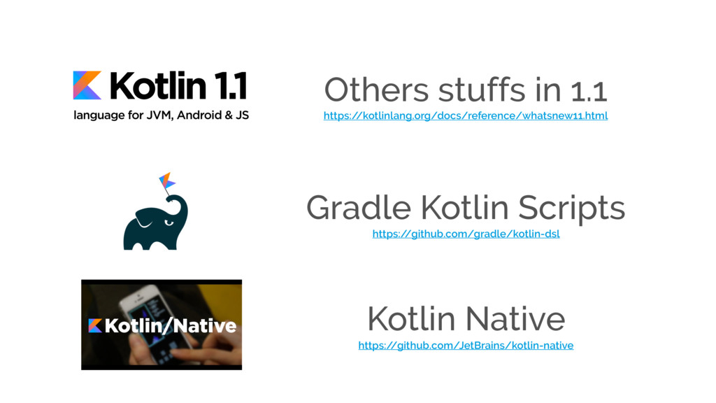 Others stuffs in 1.1 https:/ /kotlinlang.org/do...