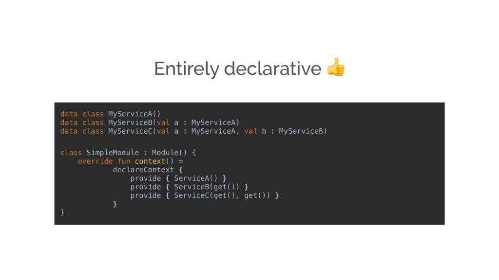 class SimpleModule : Module() { override fun co...