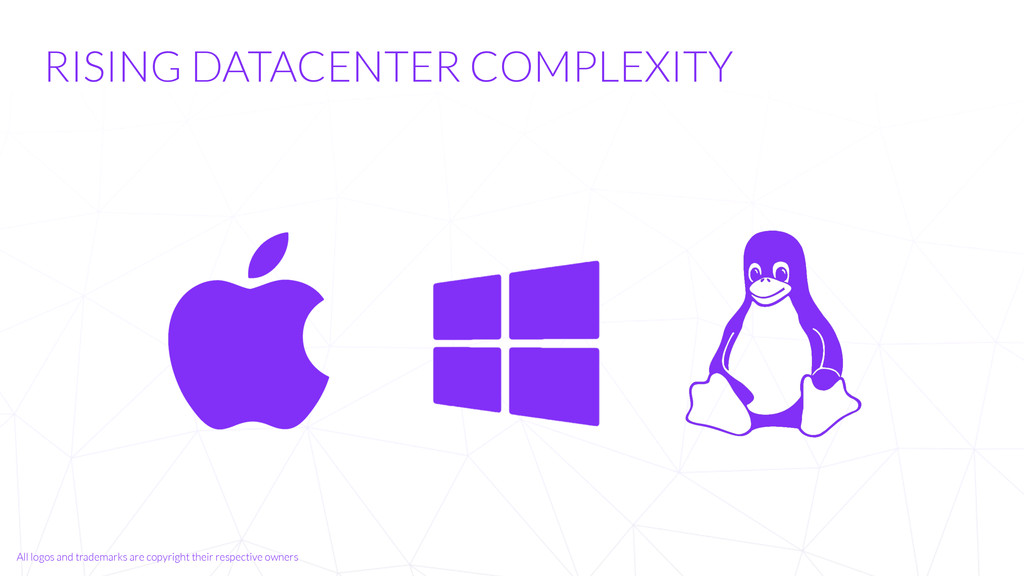 RISING DATACENTER COMPLEXITY All logos and trad...