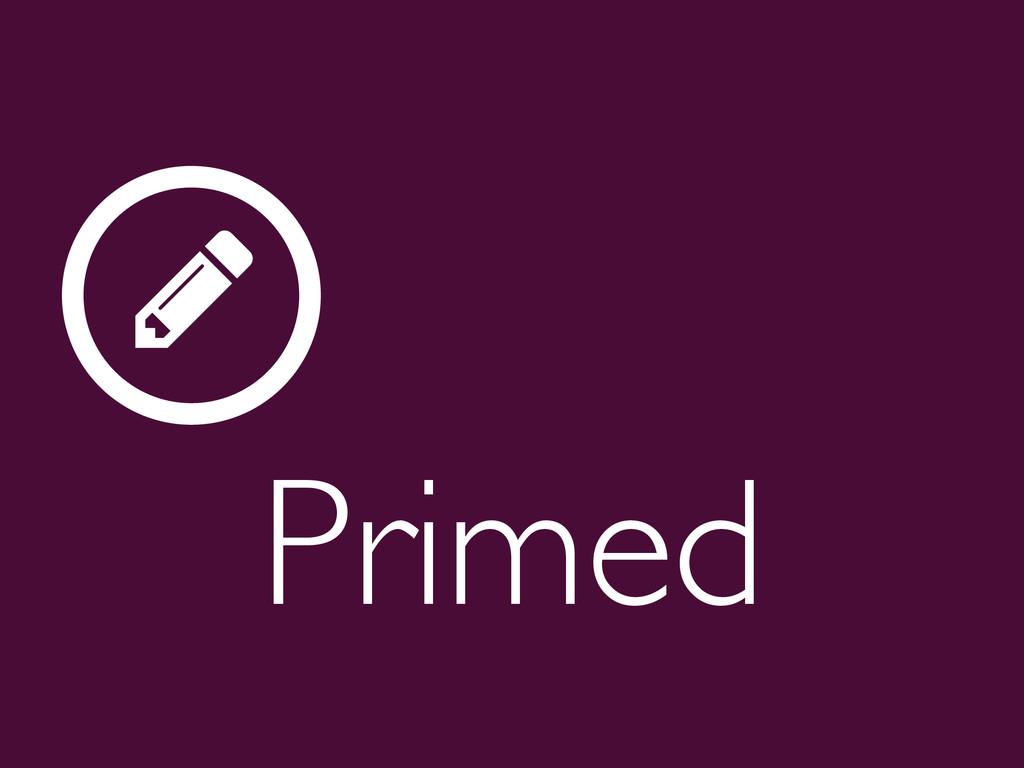Primed  ƾ