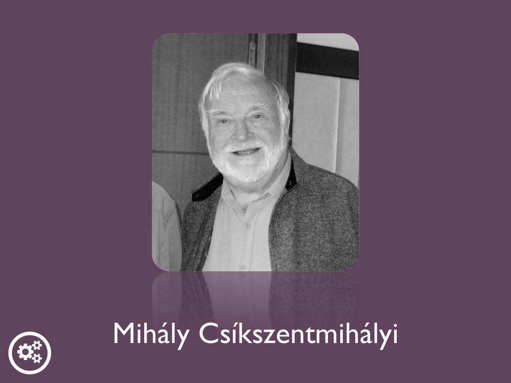 Mihály Csíkszentmihályi  ƾ