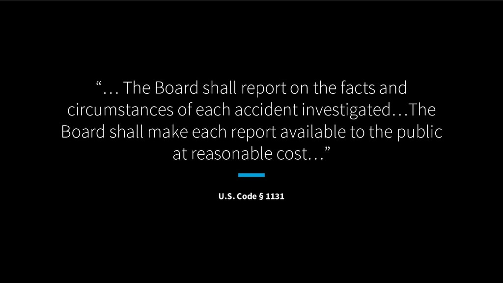 """""""… The Board shall report on the facts and circ..."""