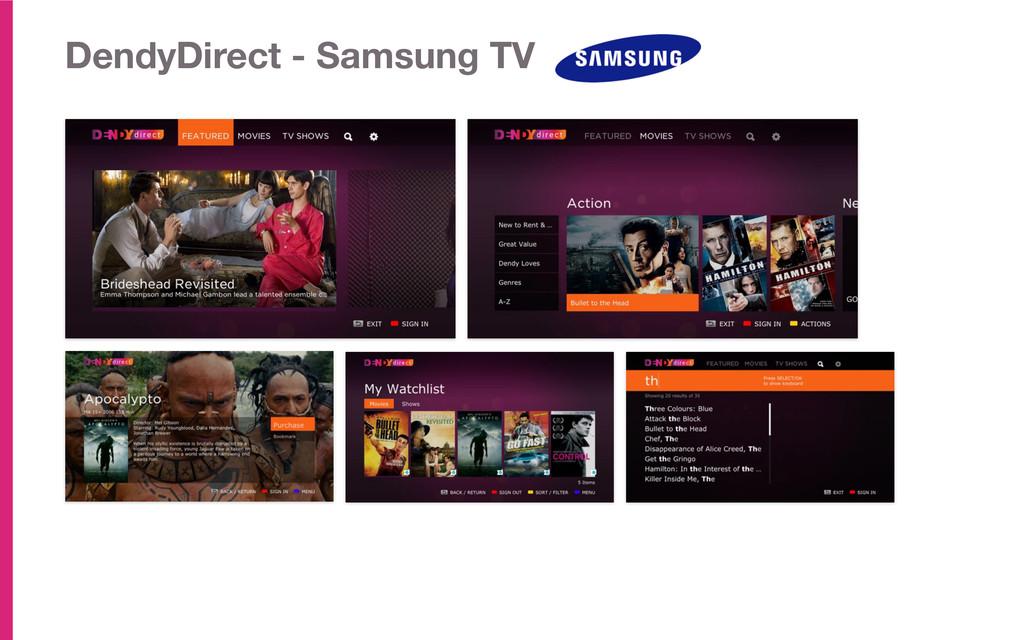 DendyDirect - Samsung TV