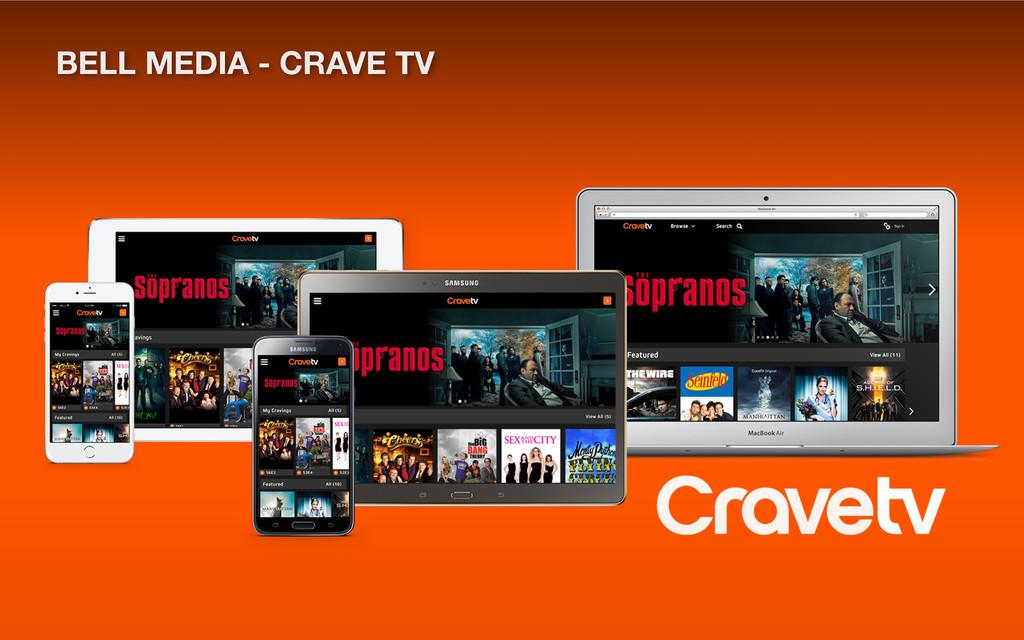 BELL MEDIA - CRAVE TV