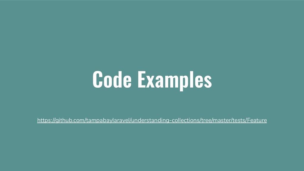 Code Examples https://github.com/tampabaylarave...