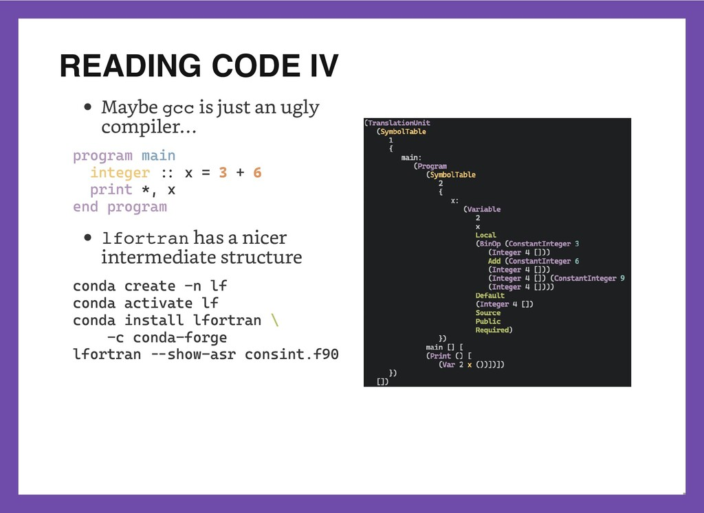 READING CODE IV   Maybe gcc is just an ugly com...