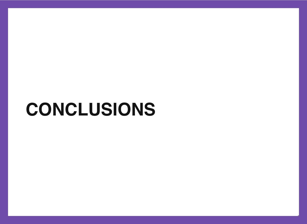 CONCLUSIONS 44