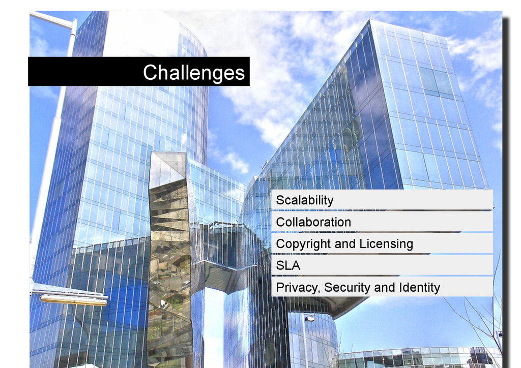 Challenges Scalability Collaboration Copyright ...