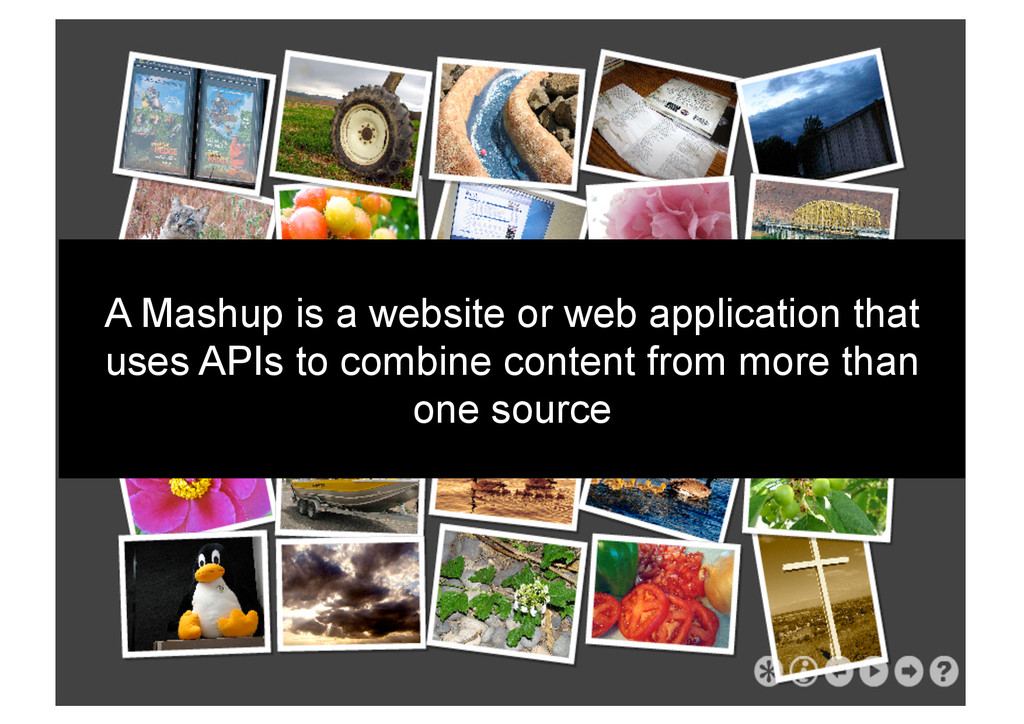 A Mashup is a website or web application that u...