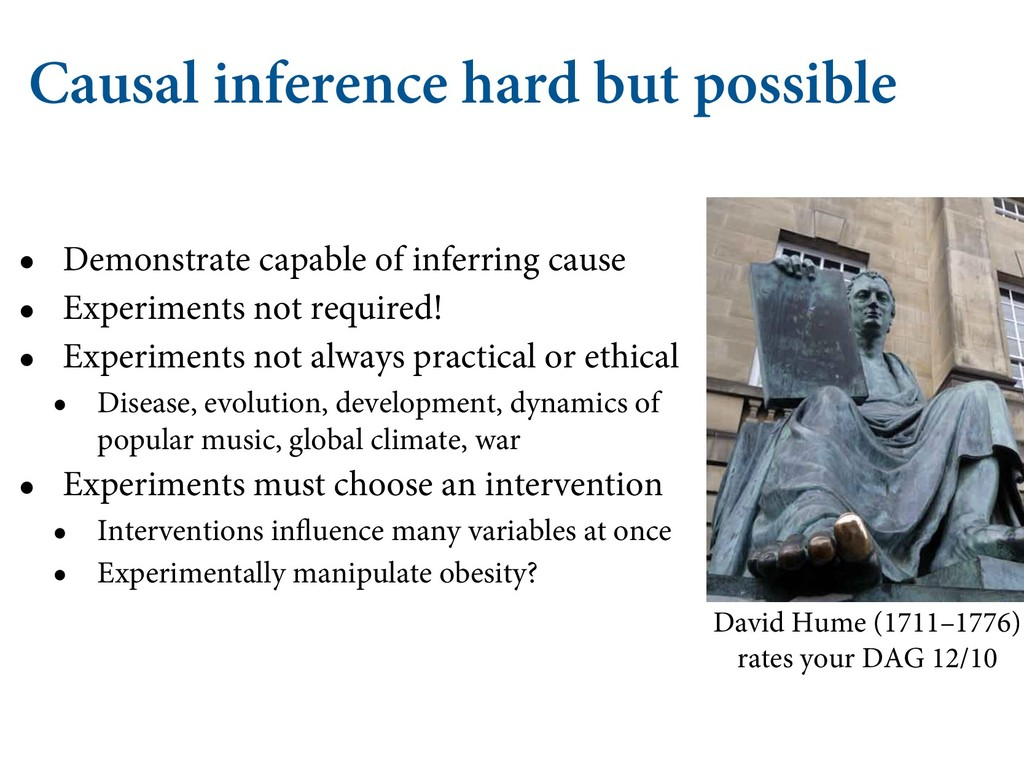 Causal inference hard but possible • Demonstrat...