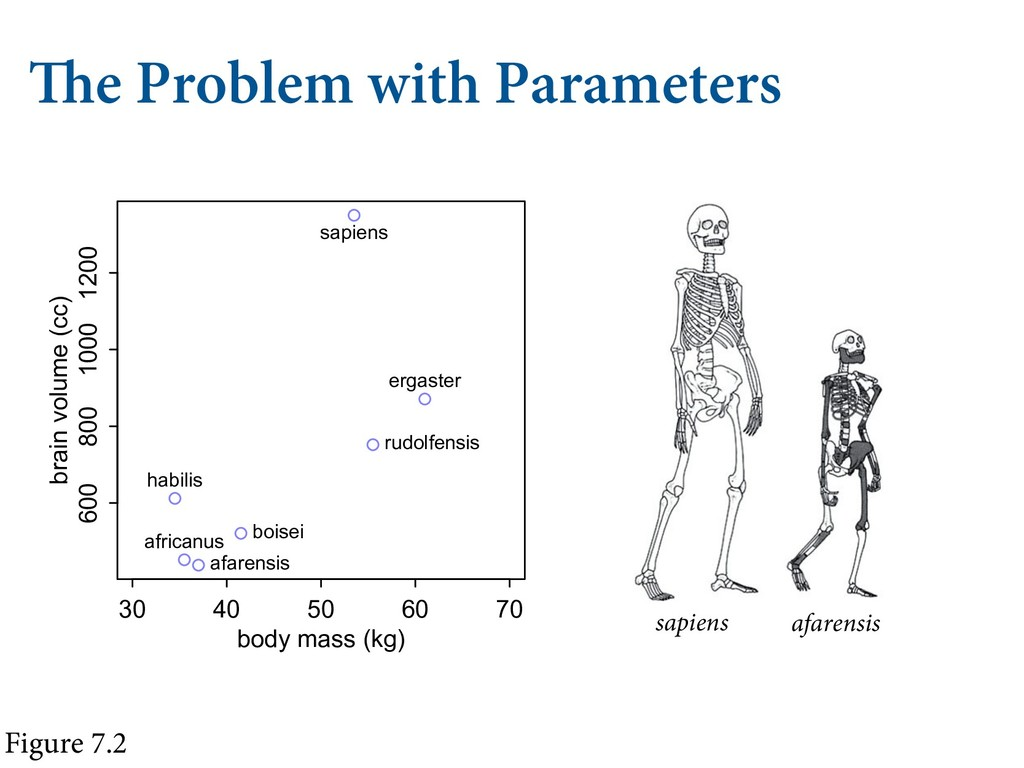 The Problem with Parameters Figure 7.2 afarensi...