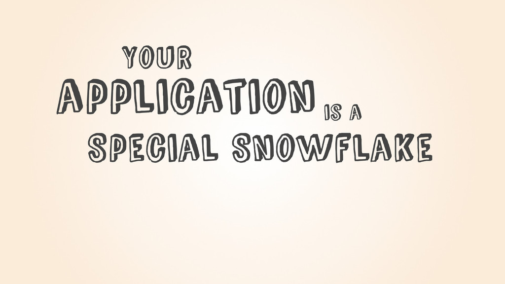 Special Snowflake YouR is a application