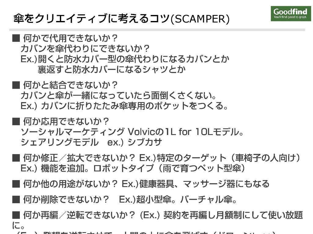 (SCAMPER)