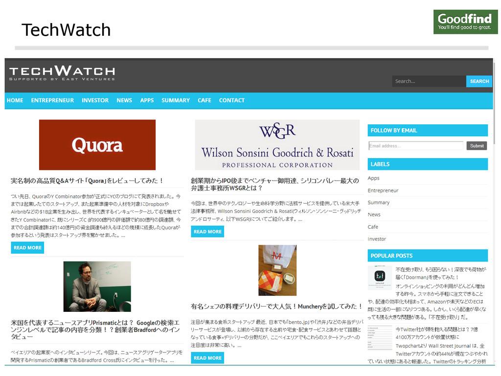 TechWatch