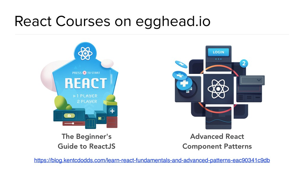 @spring_io #springio17 React Courses on egghead...