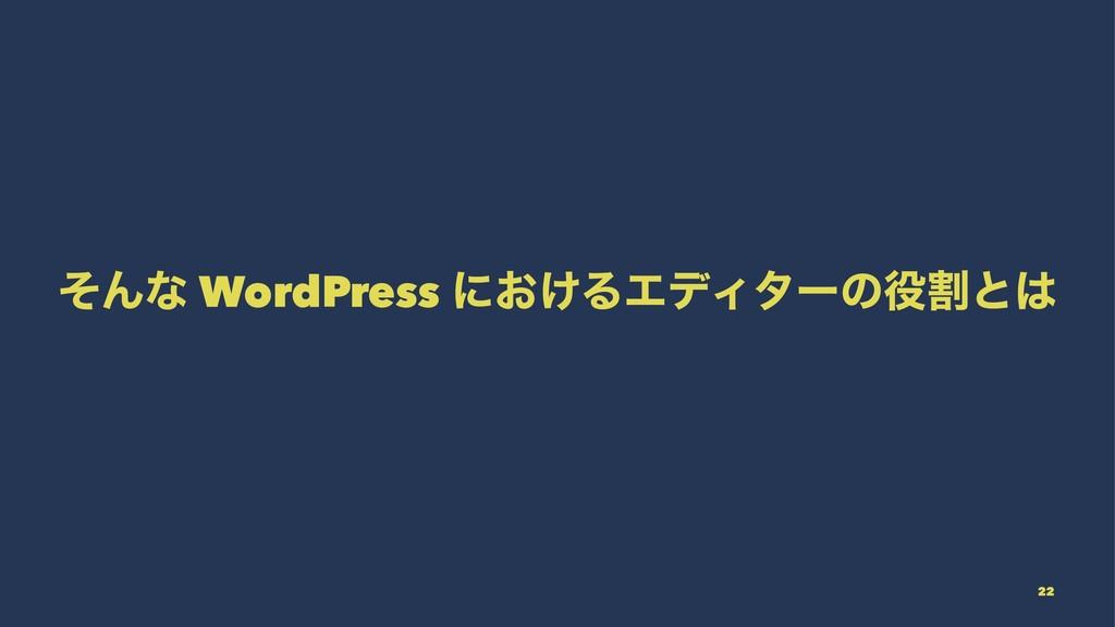 ͦΜͳ WordPress ʹ͓͚ΔΤσΟλʔͷׂͱ 22