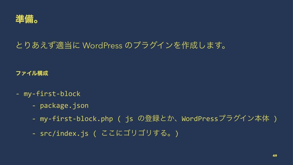 ४උɻ ͱΓ͋͑ͣదʹ WordPress ͷϓϥάΠϯΛ࡞͠·͢ɻ ϑΝΠϧߏ - m...