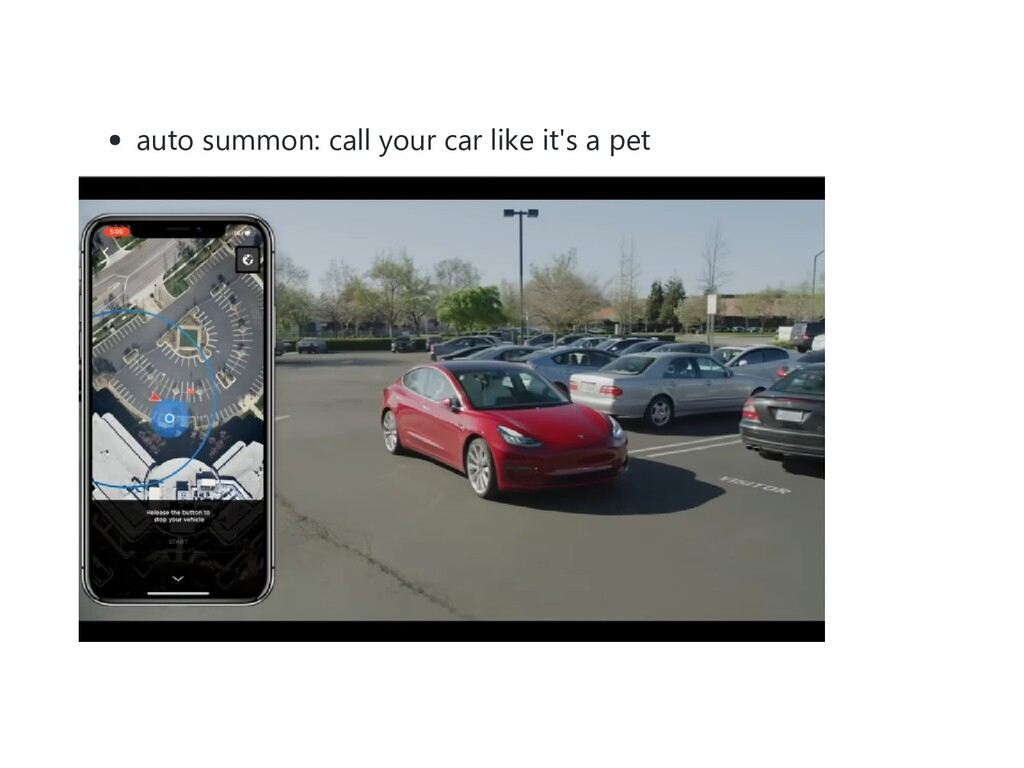 auto summon: call your car like it's a pet