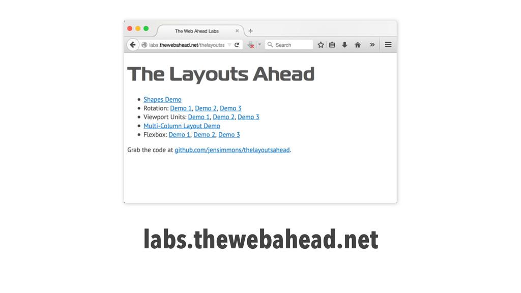 labs.thewebahead.net