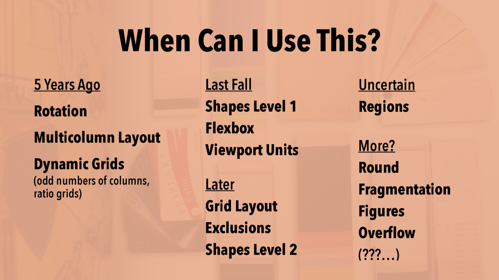When Can I Use This? Later Grid Layout Exclusio...