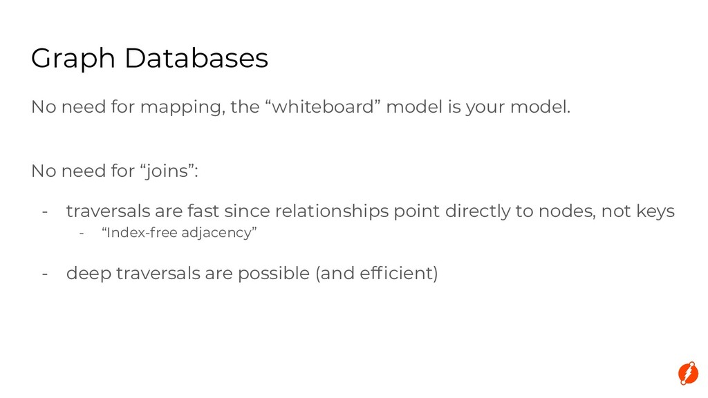 """No need for mapping, the """"whiteboard"""" model is ..."""