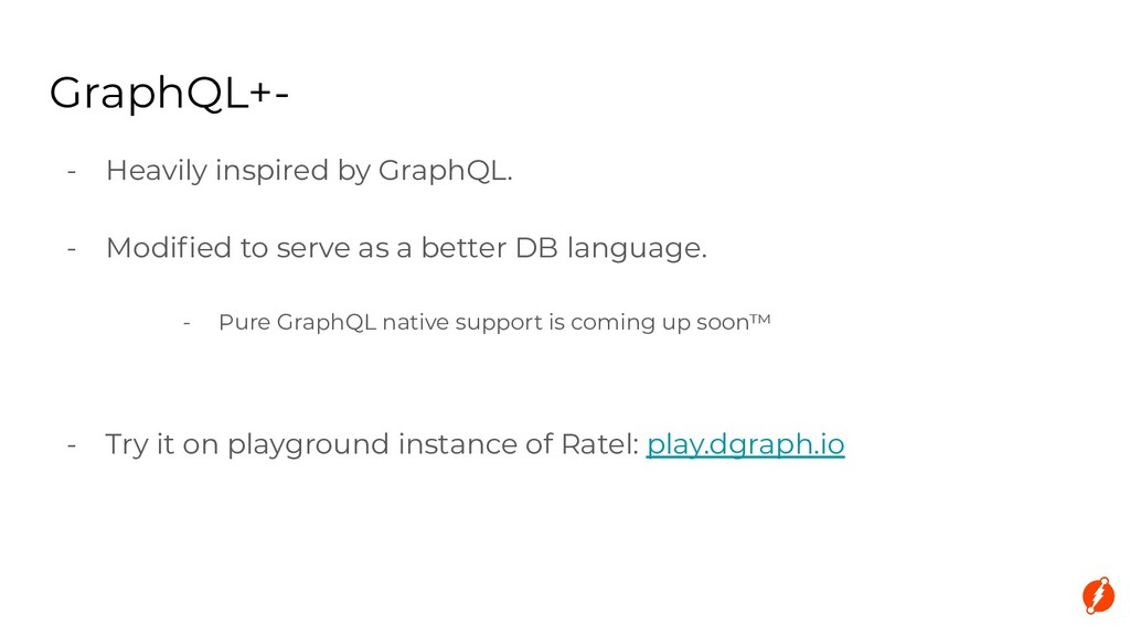 - Heavily inspired by GraphQL. - Modified to ser...