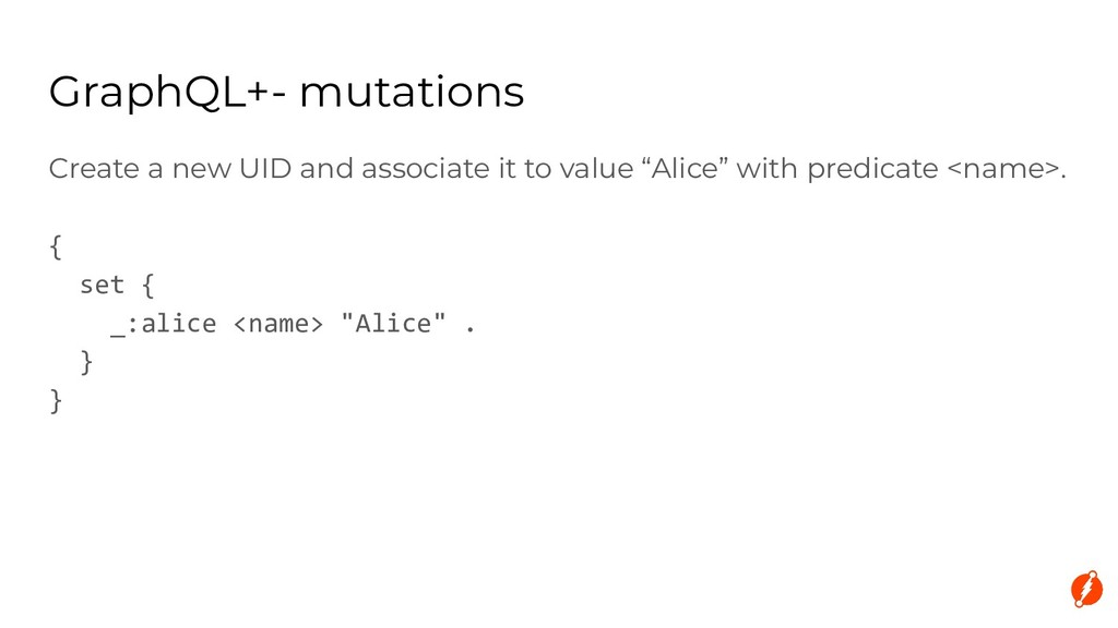 """Create a new UID and associate it to value """"Ali..."""