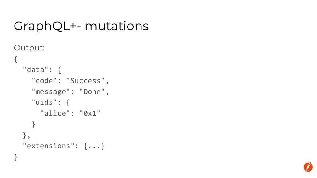 "Output: { ""data"": { ""code"": ""Success"", ""message..."