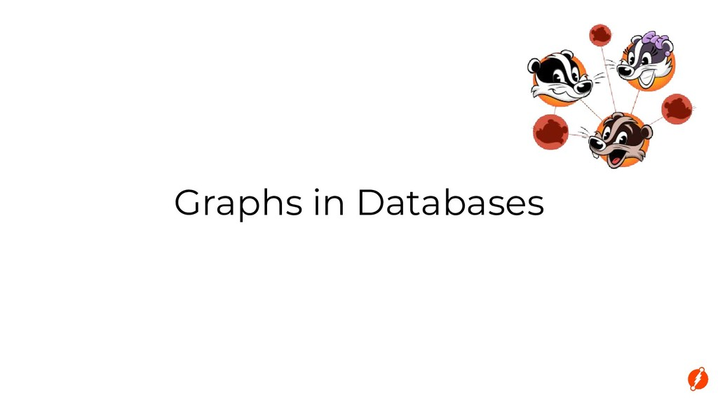 Graphs in Databases