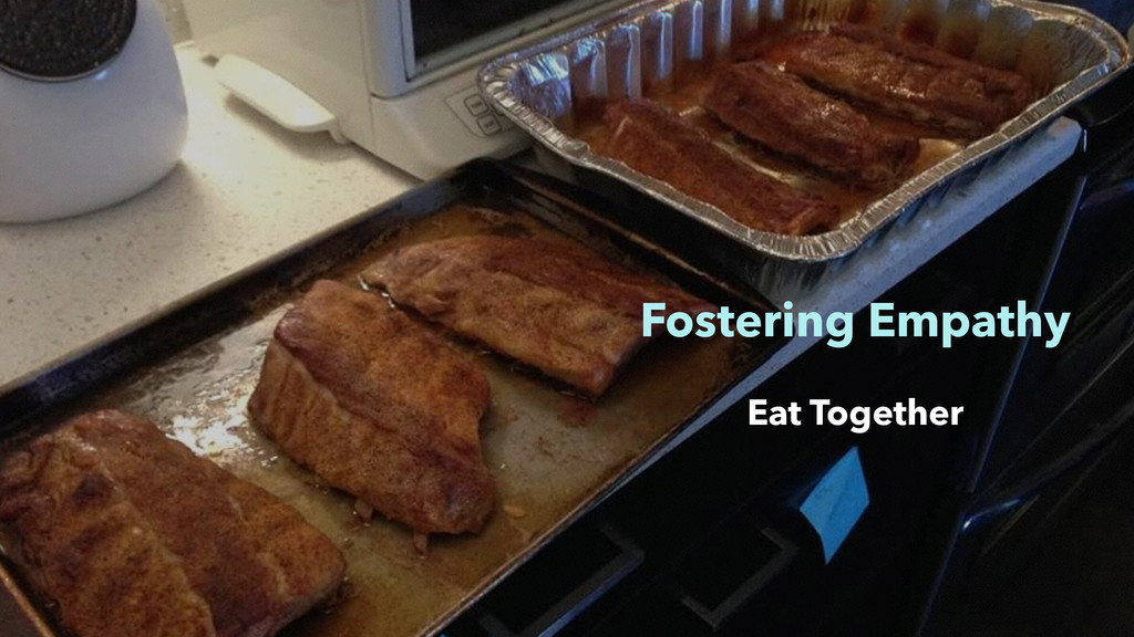 Fostering Empathy Eat Together