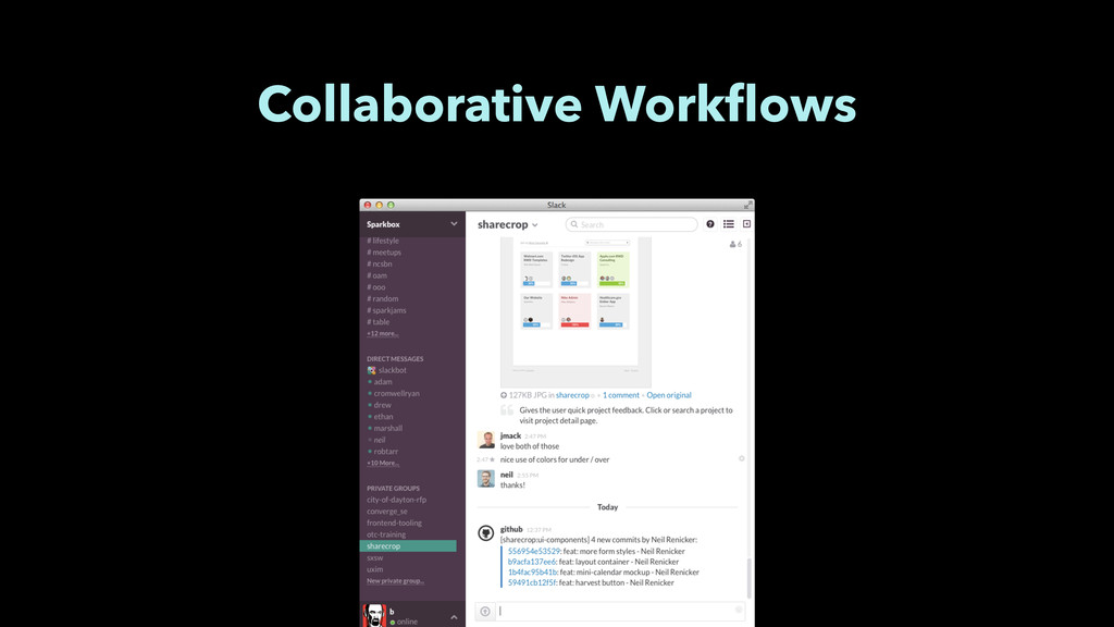 Collaborative Workflows