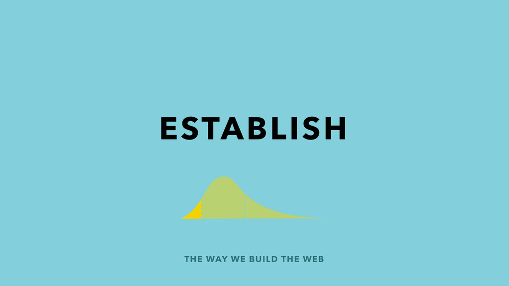 THE WAY WE BUILD THE WEB ESTABLISH