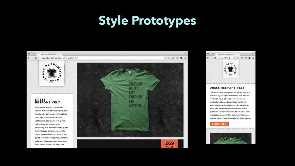 Style Prototypes