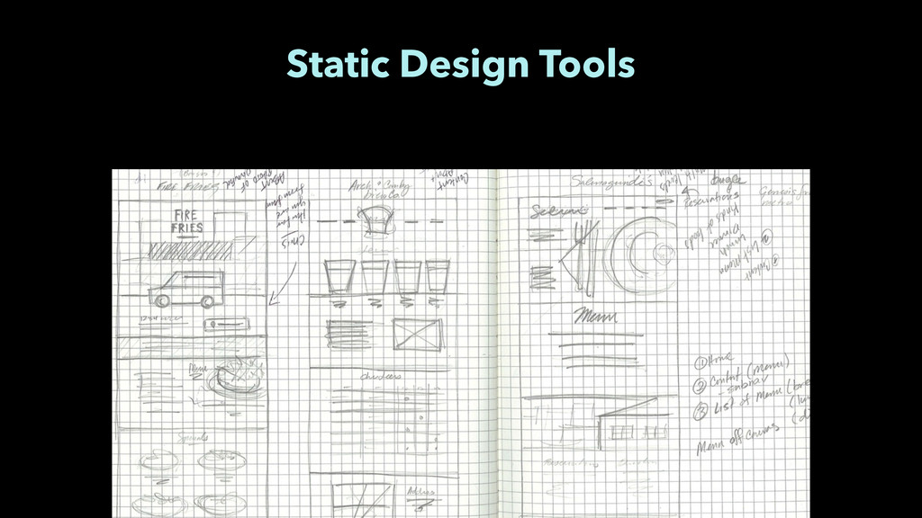 Static Design Tools
