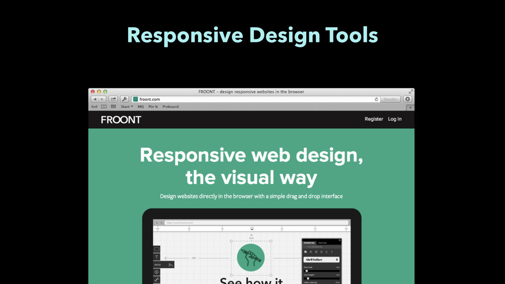 Responsive Design Tools