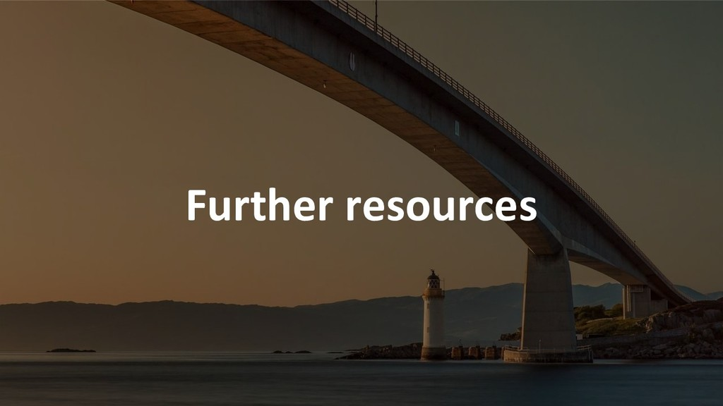 Further resources