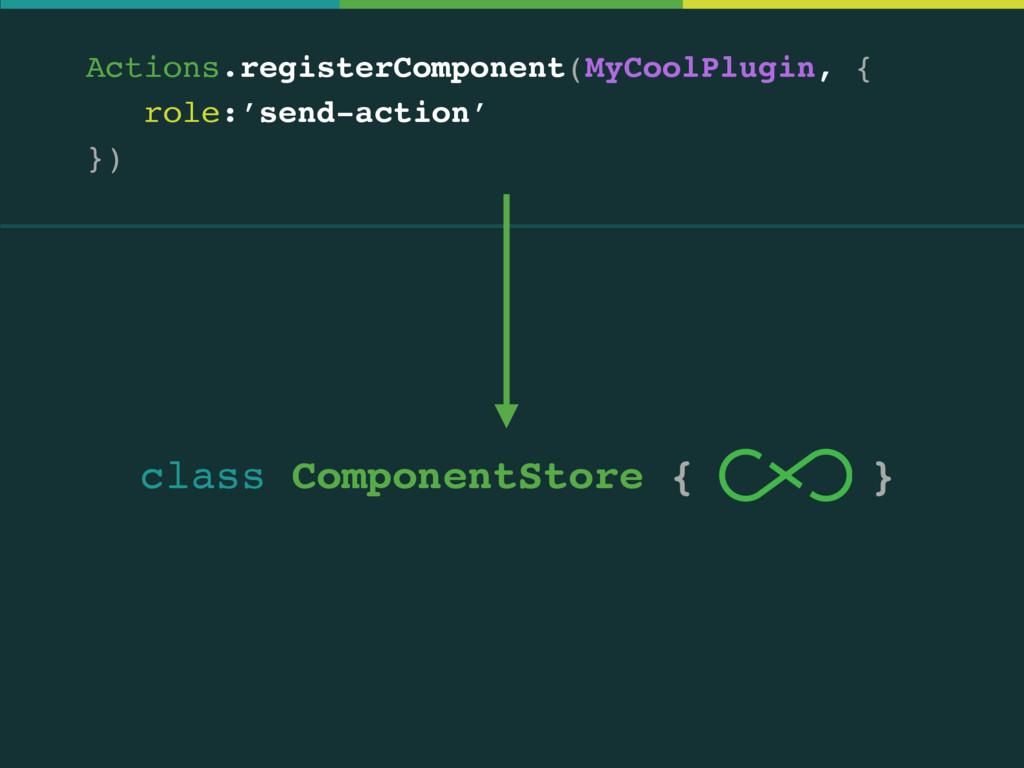 Actions.registerComponent(MyCoolPlugin, { role:...