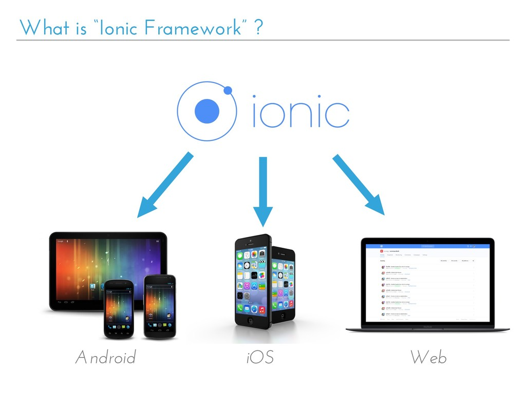 "What is ""Ionic Framework"" ? Android iOS Web"