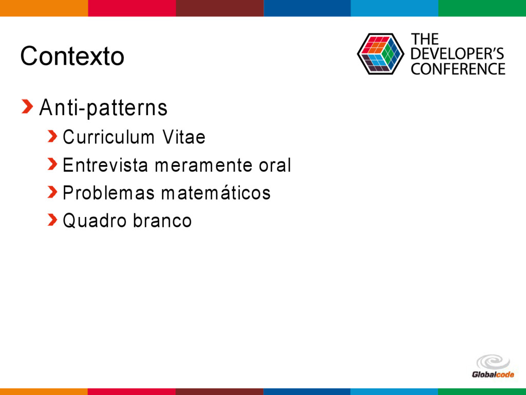 Globalcode – Open4education Contexto Anti-patte...