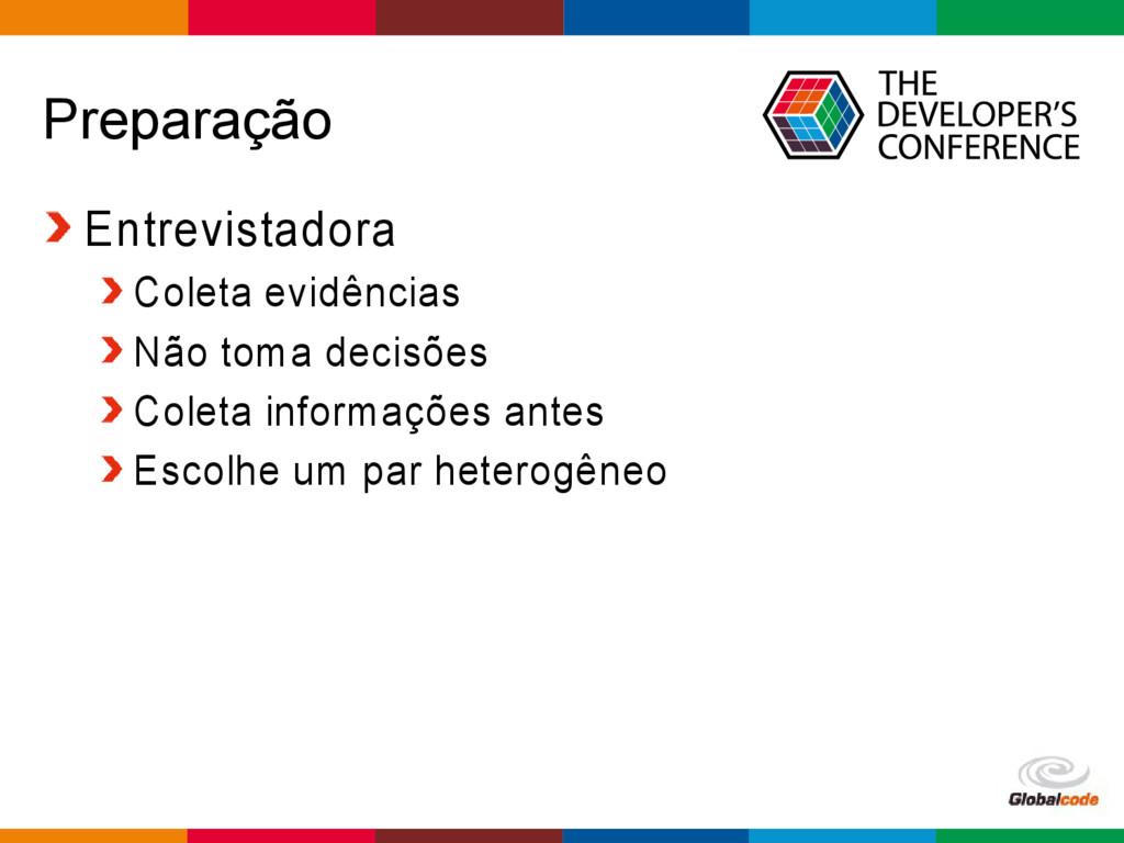 Globalcode – Open4education Preparação Entrevis...