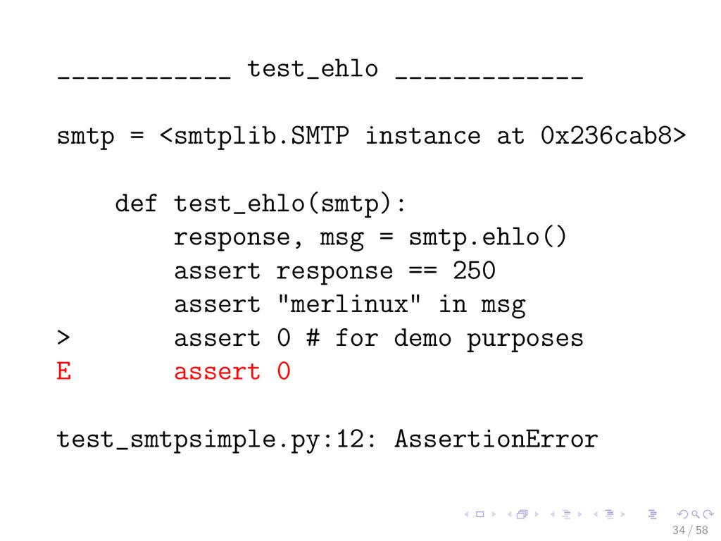 ____________ test_ehlo _____________ smtp = <sm...
